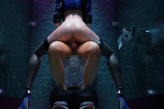 KDA Evelynn – Bathroom Ride (Animation With Sound)