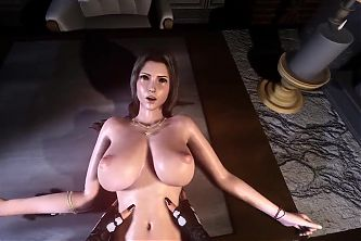 Futa Tifa Lockhart Fucks Futa Aerith POV Part 4